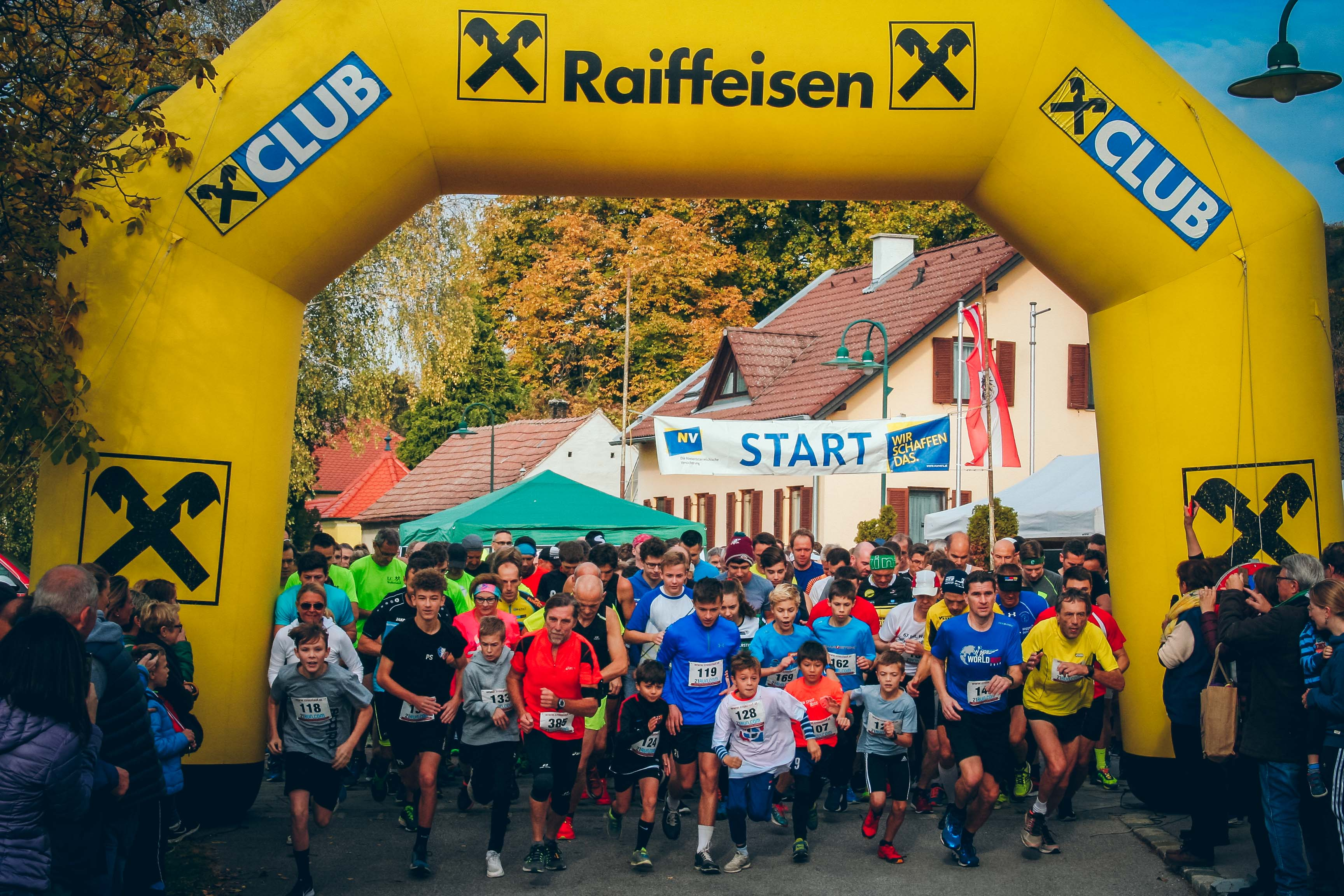 Crosslauf und Nordic Walking am Nationalfeiertag 2018